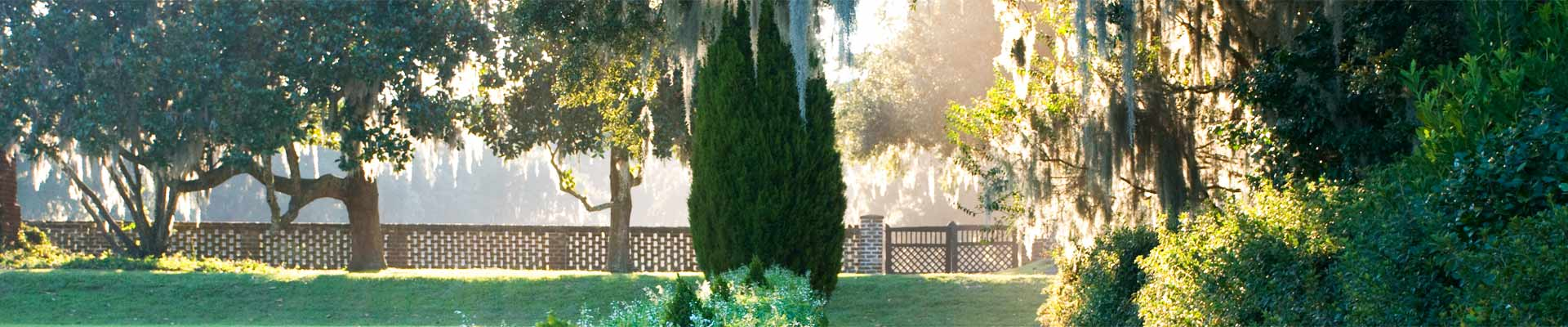 Gardens of the Lowcountry rely on All Seasons Mulch