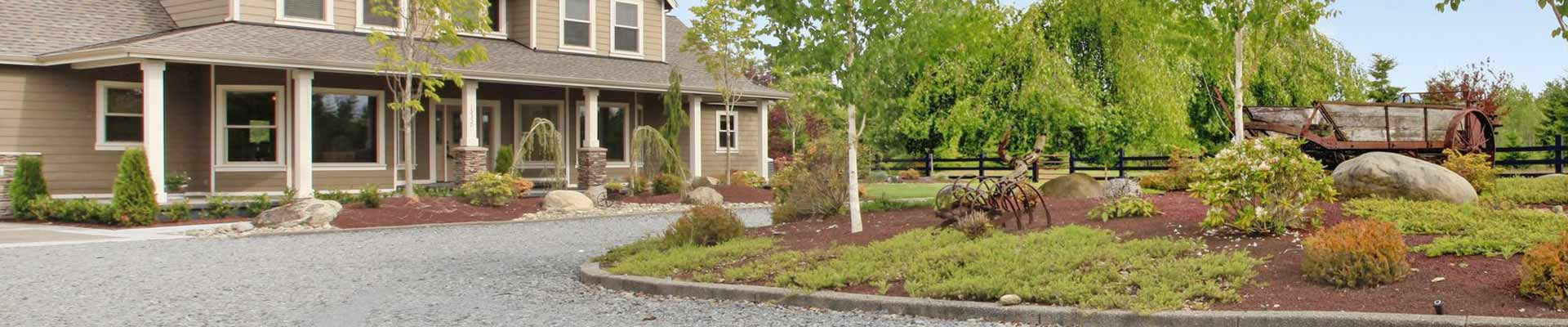 Driveway gravel and rock installation Charleston by All Seasons Mulch