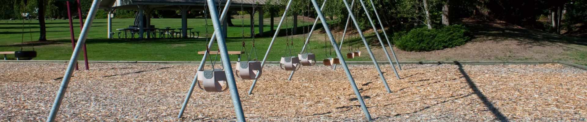 Playground mulch for all Lowcountry playgrounds from All Seasons Mulch