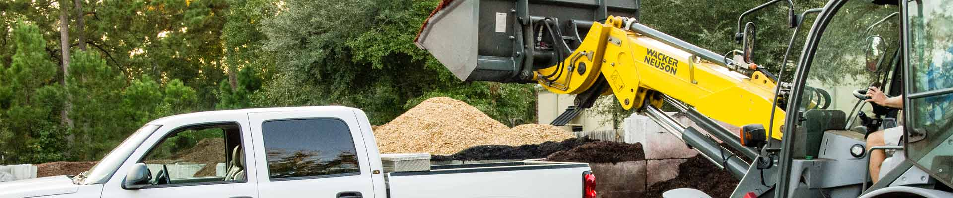 Pickup mulch at All Seasons using your own vehicle or truck