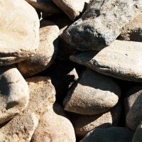 Delaware Blend Creek Stones 5 to 8 inches diameter
