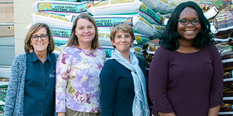 Our retail garden center staff are here to help you