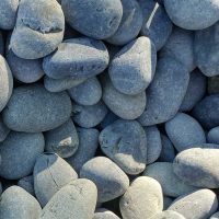 Mexican beach pebbles 1 to 2 inches